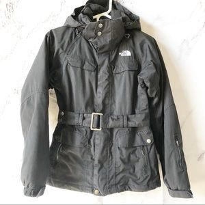 The North Face Down Filled Winter Ski Jacket Black